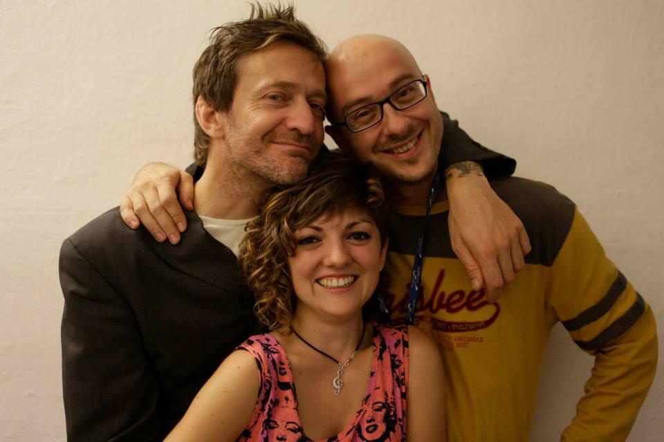 Con Frankie Magellano e Stefano Riccò al Premio Tenco 2013